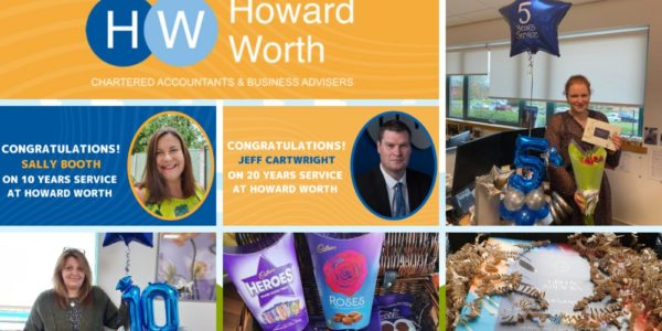 Howard Worth Staff Celebrate Long Service Awards