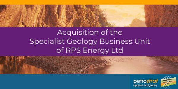 PetroStrat Announces Acquisition of Specialist Geology Business Unit of RPS Energy
